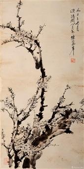 梅花图 by guan shanyue