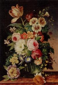 floral still life by erich josef donau dogarth