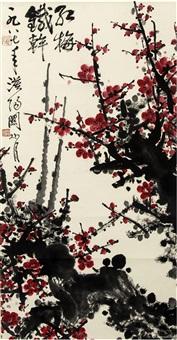 红梅图 by guan shanyue