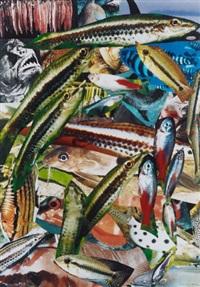 aquarium i & ii (2 works) by isa genzken