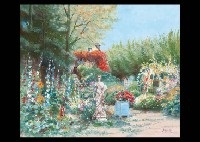 jardin de l'hotel (+ bloom garden; 2 works) by h. rolf rafflewski