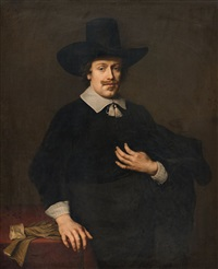 portrait of a gentleman by johann spilberg the younger