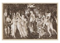 spring (+ 3 others; set of 4) by sandro botticelli