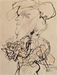 portrait of man by fernando botero
