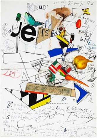 composition by jean tinguely