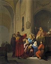 darbringung im tempel by willem de poorter