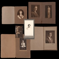 a group of portraits (6 works) by edward weston