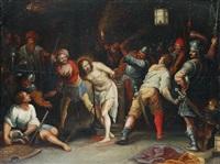 geisselung christi by hieronymus francken iii