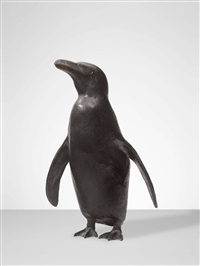 pinguin by rudolf christian baisch