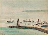 港口 by ai zhongxin