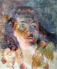portrait of erna schonfeld by erich wolfsfeld
