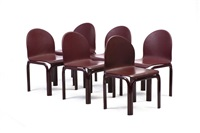 mobilier de salon modèle n°54-51 (set of 9) by gae aulenti