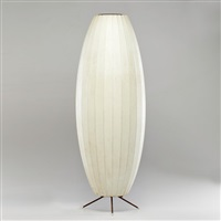 floor standing cigar bubble lamp by george nelson