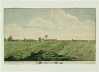 prospect af store heddinge, at see fra den westre siide anno 1753 by johann jacob bruun