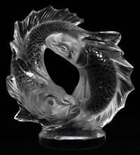 deux poissons by rené lalique