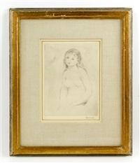 two etchings by pierre-auguste renoir