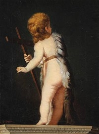 st. john the baptist as a child by g. gaggio