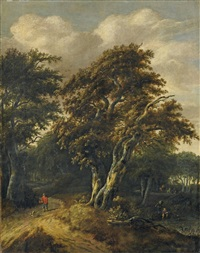 waldlandschaft by salomon rombouts
