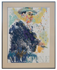 al capone by leroy neiman