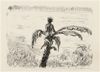 sindbad der seefahrer. ein märchen aus 1001 nacht (bk w/33 works, folio) by max slevogt