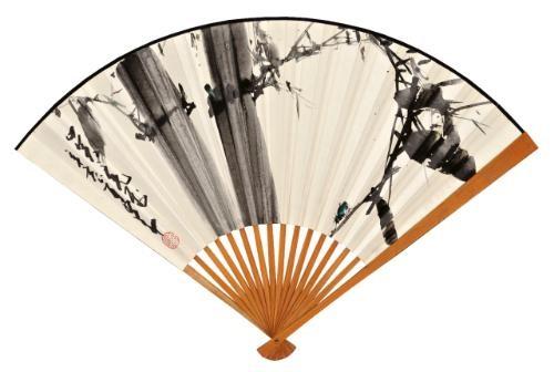 bamboo poem in xingshu verso by zhao shaoang
