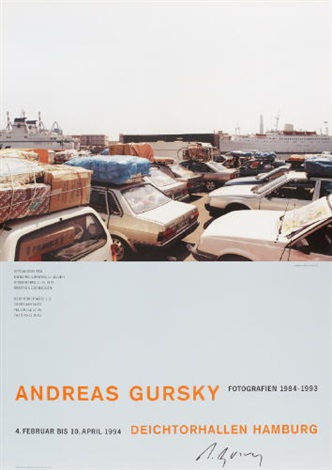 deichtorhallen hamburg fotografien 1984-1993, 1994 by andreas gursky