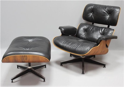 Attraktiv Elegant Sessel Nr Und Ottoman Nr By Charles And Ray Eames With Eames  Sessel