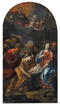 anbetung der hirten by jean-pierre tassaert