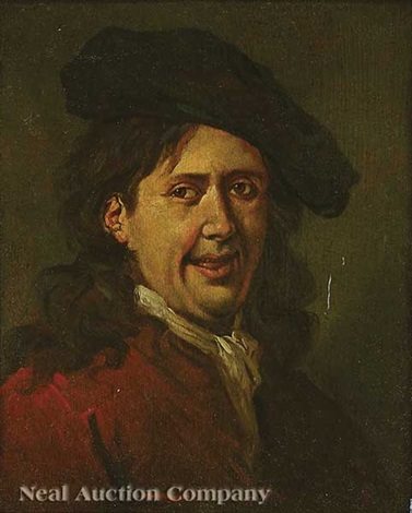 portrait of a laughing man by frans hals the elder