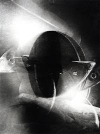 ohne titel (aus dem 40teiligen space-tableau) by dieter appelt