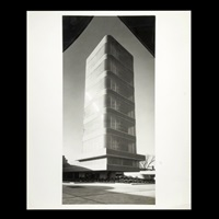 s.c. johnson research tower by ezra stoller