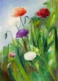 unikkoja - blommor i solsken by ole kandelin