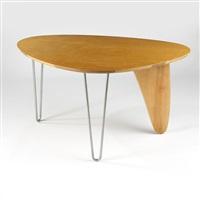 rudder dinette table, model in-20 by isamu noguchi