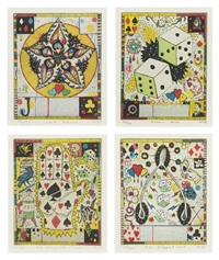 infinite wagner (set of ten) by tony fitzpatrick