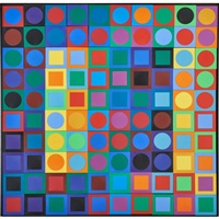 planetary folklore participations no by victor vasarely