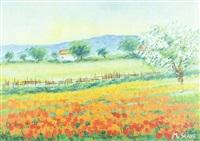 paesaggio by mario soave