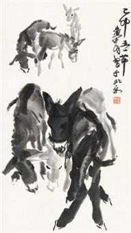 毛驴 (一件) by huang zhou