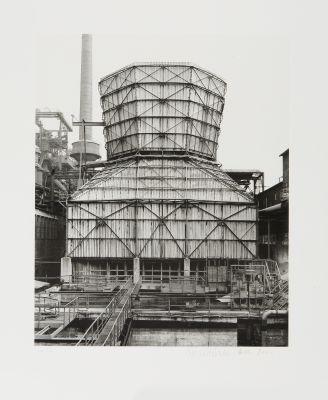 kühlturm (stahlwerk hagen-haspe) by bernd and hilla becher