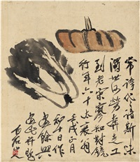果蔬图 by qi baishi