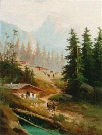mountainous landscape by melzer