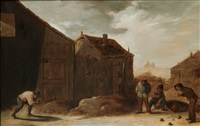 kulspel by david teniers the elder