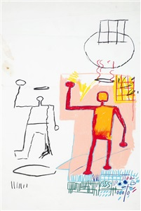 untitled by jean michel basquiat