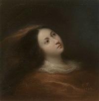 portrait einer jungen frau by nicolas françois octave tassaert
