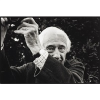 marc riboud with his leica by michael agel