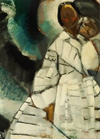 hvid dame by age vogel-jorgensen