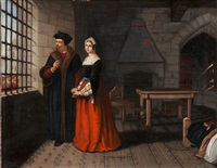 sir thomas more & his daughter by john rogers herbert