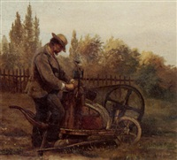 the scissors-grinder by niels anker lund
