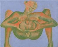 woman by francesco clemente