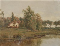 gone fishing by gustave adolph wiegand
