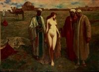 le marché aux esclaves by eduard ansen-hofmann